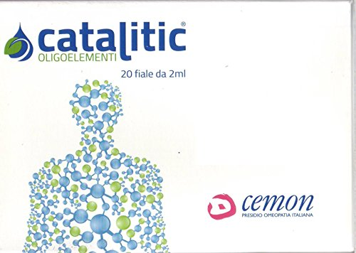 Cemon catalitic oligoelementi soluzione Litio Li 20 fiale da 2ml