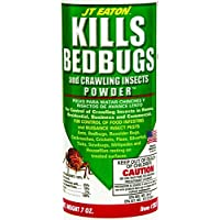 JT Eaton Bedbug and Crawling Insect Powder with Diatomaceous Earth