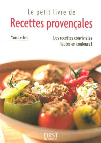 Petit livre de - Recettes provençales par Yann LECLERC