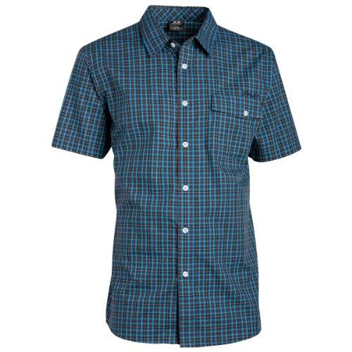 Camicia da uomo Oakley 50'S WOVEN SHIRT SS, Uomo, red line, (Oakley Woven Shirt)