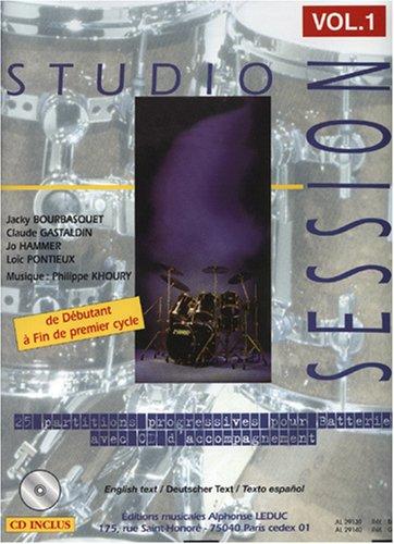 Jacky bourbasquet, claude gastaldin jo hammer, loic pontieux et philippe khoury - studio session, vo EPUB Téléchargement gratuit!