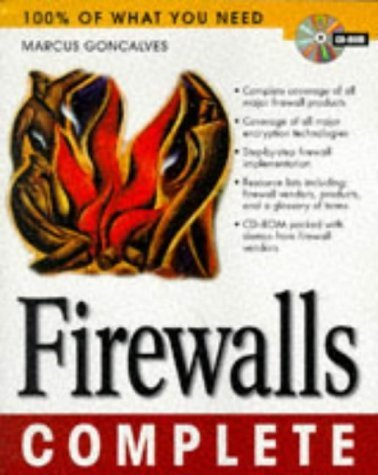 Firewalls Complete (Complete Series) by Goncalves, Marcus (1998) Paperback
