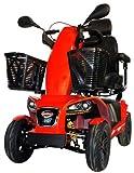 Freerider FR1 Deluxe Class 3 4 Wheel Mobility Scooter - Metallic Orange