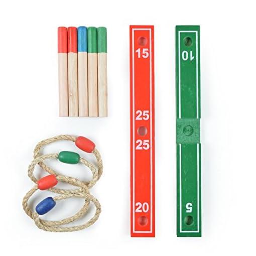 Ocean5-Ringwurfspiel-Bausatz-inkl-4-Ringe-der-Spielzeug-Klassiker-Gartenspiel-Wurfspiel-das-Geschicklichkeitsspiel-aus-Holz