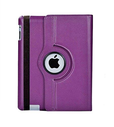 2010kharido AE 360 Rotating PU Leather Case Cover For Apple ipad 2...
