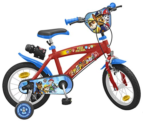 TOIMSA Patrulla Canina - Bicicleta 14 Pulgadas