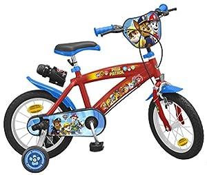 TOIMSA-Paw Patrol para Bicicleta Infantil, 1474u