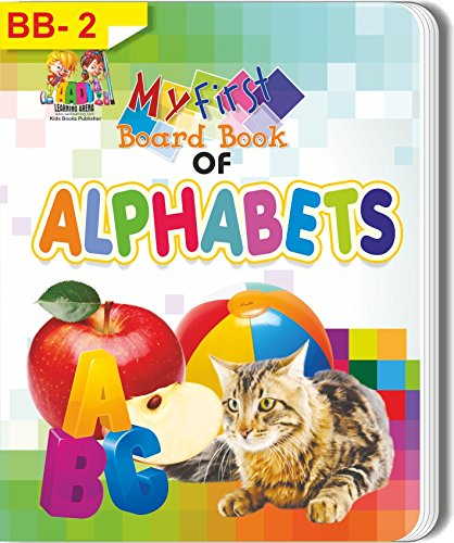 Buy One Get One Free of My First Board Book of Alphabets for Kids by Aadi Learning Arena