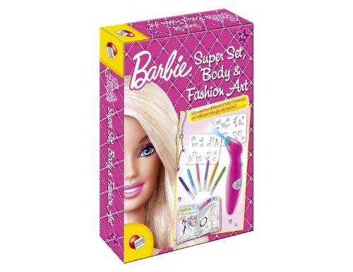Barbie. Super set body e fashion art. Con gadget