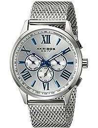 Akribos XXIV Reloj de cuarzo Man AK844SS 42 mm