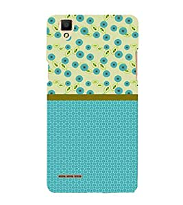 Floral Design 3D Hard Polycarbonate Designer Back Case Cover for Oppo F1