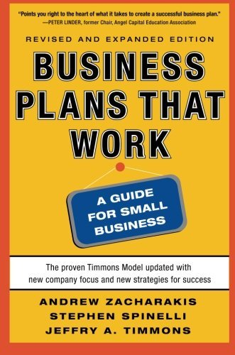 Business Plans that Work: A Guide for Small Business 2/E by Andrew Zacharakis (2011-04-14)