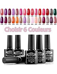 Perfect Summer Sélectionner 6 Couleurs Vernis à Ongles Gel Semi Permanent UV ou LED 10ml