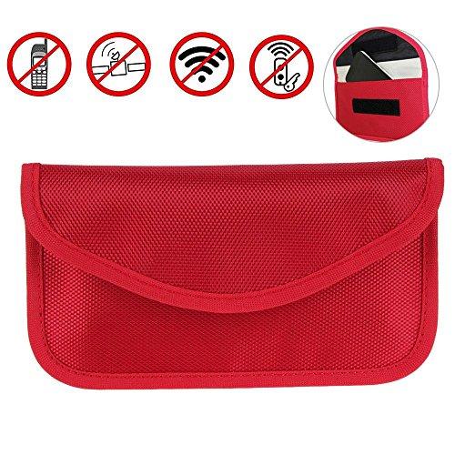 Aolvo strahlenabweisend RF-Signal blockieren Tasche Abschirmung Tasche Wallet Schutzhülle für iPhone, Samsung- und Handy andere Sichtschutz und Auto - Case Andere Box S5