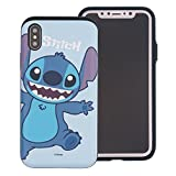 iPhone XR Coque [Heavy Drop Protection] Disney Mignon Couche Hybride [TPU + PC] Coque...