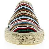 Scarpe Donna Ciabatte LA Maison DE L'ESPADRILLE in Tela Multicolore 415-1-BAYADE