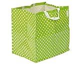 Betzold 78508 - Garten-Tragetasche 58x60x45 cm, strapazierfähiges PE-Material, leicht, platzsparend und zusammenfaltbar - Tasche Gartentasche Kunststofftasche
