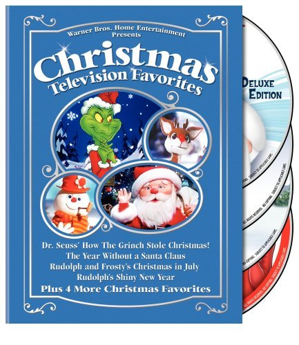 Favorites (Dr. Seuss' How the Grinch Stole Christmas! / The Year Without a Santa Claus / Rudolph and Frosty's Christmas in July / Rudolph's Shiny New Year / and More) ()