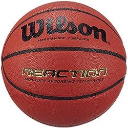 Wilson Reaction - Pelota, color marrón, YTH 5