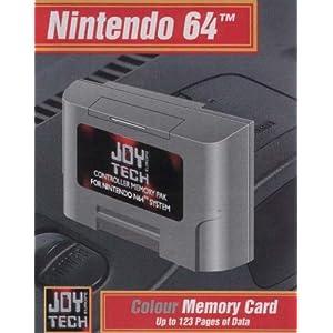 Nintendo 64 – Memory Card
