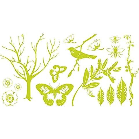 We R Memory Keepers We R Memory Keepers Botanical Letterpress Printing Plate Set