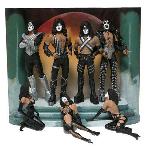Preisvergleich Produktbild KISS Ultra Action Figures - LOVE GUN-DELUXE EDITION Box Set