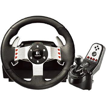 Logitech G27 Racing Wheel, Nero, Versione Italiana