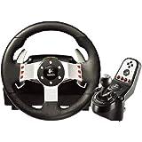 Logitech G27 Ensemble Volant + pédales + levier de vitesse pour PC,PS2 et PS3 Cuir Noir / acier