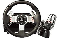 Logitech G27 - Juego de volante de cuero, pedal...