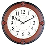 WOOD CRAFT ws-1126a sweep wall clock (wo...