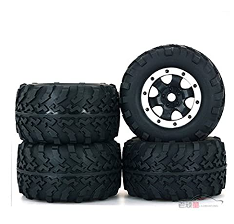 Meijunter 17MM Tires Tyre Wheel Rim Reifen Felgen Felge für 1:8 Big Foot Truck Team Magic Traxxas HSP HPI DHK