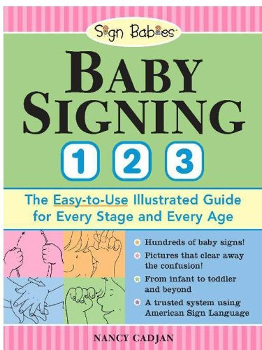 Baby Signing 1-2-3: The Easy-to-Use Illustrated Guide for Every Stage and Every Age (English Edition)