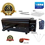 Vibro 106 Grill Chef Electric Tandoor with Heat Selection Switch (2200watt) Front Opening