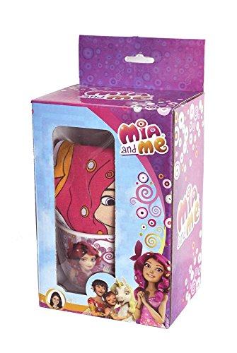 Mia and Me W89616 MC - Gift Kitchen, Tovaglietta e Tazza, Multicolore
