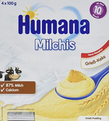 Humana Milchis Grieß Keks, 6er Pack (6 x 400 g)