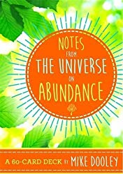 Notes from the Universe on Abundance: A 60-Card Deck by Mike Dooley (2016-06-28)