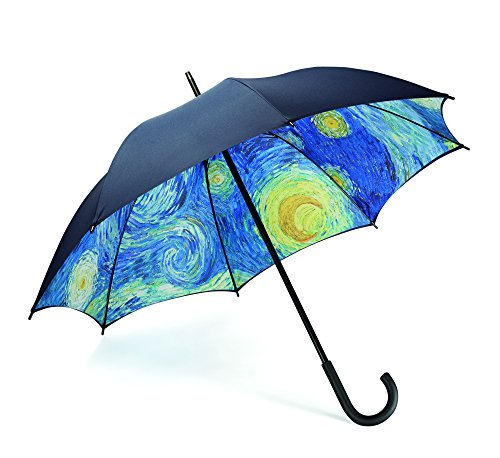 Arteum Parapluie Starry Night Full Size Pliant, 90 cm, Multicolore