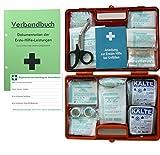 Verbandskoffer/Verbandskasten (G) - Erste Hilfe Nach Din 13169 für Betriebe -DSGVO-