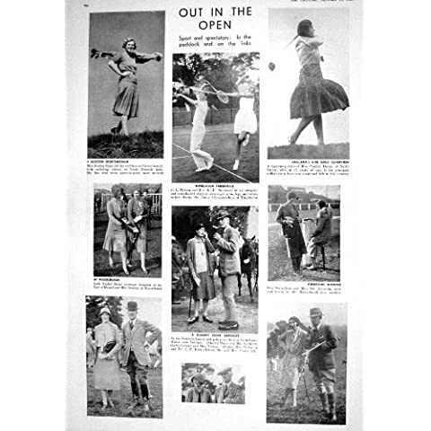 El Tenis Mytton De 1930 Capas Del Golf Doran Se Dirige El Polo Alemania Cerro Ciano De Kent Ellis
