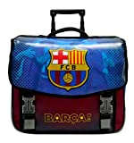 Fc Barcelone Cartable Scolaire à roulettes Barca - Collection Officielle