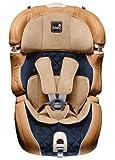 Kiwy 14103DL01B Kinderautositz SLF123 DeLuxe, Echt Lederausstattung, mit Q-Fix Adapter,...