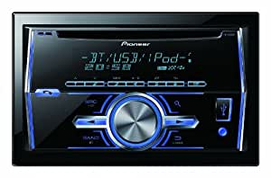 Pioneer FH-X700BT CD-Tuner (DoppelDIN-Format, Bluetooth, iPod/iPhone-Steuerung, Front USB, Front AUX-IN)