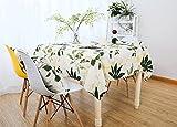 Impermeabile tovaglie Tovaglie da tavolino Anti-Olio Anti-Olio monouso tovaglie rettangolari-C 150x150cm(59x59inch)
