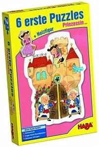 Haba 2434 - Puzzle Infantil (6 Modelos), diseño de Princesa