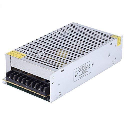 LEDSone IP20 DC 5 V hohe Qualität für den Innenbereich, universell geregelt, Schaltnetzteil für LED-Streifen CCTV, 5V 300W 60A, 1 60a Netzteil