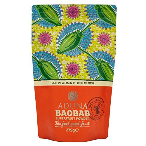 Aduna Baobab Superfrucht Pulver, 1er Pack (1 x 275 g) -