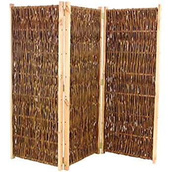 bambus-discount.com Raumteiler aus Weiden, Paravent Höhe