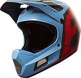 Fox Trail-Helm Rampage Comp, Blue/Red, Größe XL
