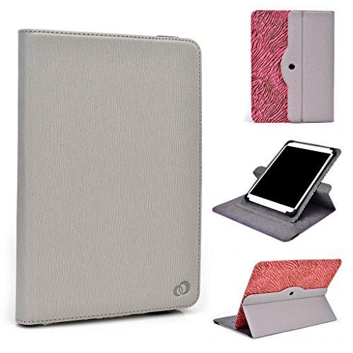 Zoll 9 Tablet Lenovo (Tablet Tasche für Lenovo Tab A8 Kroo Universal für 9-10-inch Tablet 360 drehbar grau)