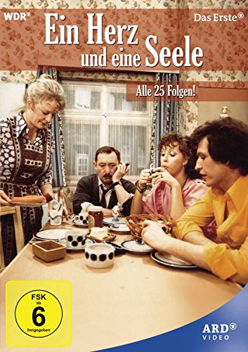 Ein Herz und eine Seele - Alle 25 Folgen! (Neuauflage) [7 DVDs] -